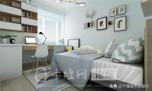 十堰装修 110平米的三居室装修,现代风格让人眼前一亮!-5.jpg