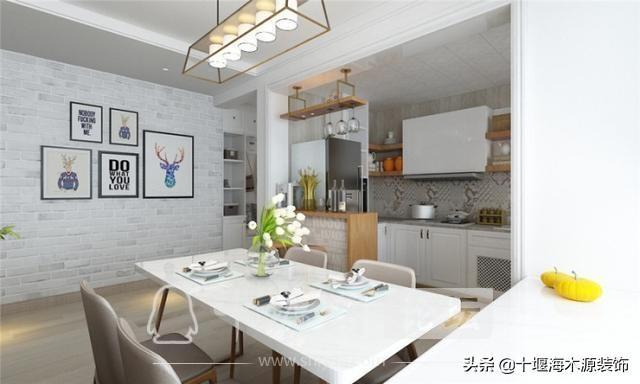 十堰装修 110平米的三居室装修,现代风格让人眼前一亮!-3.jpg