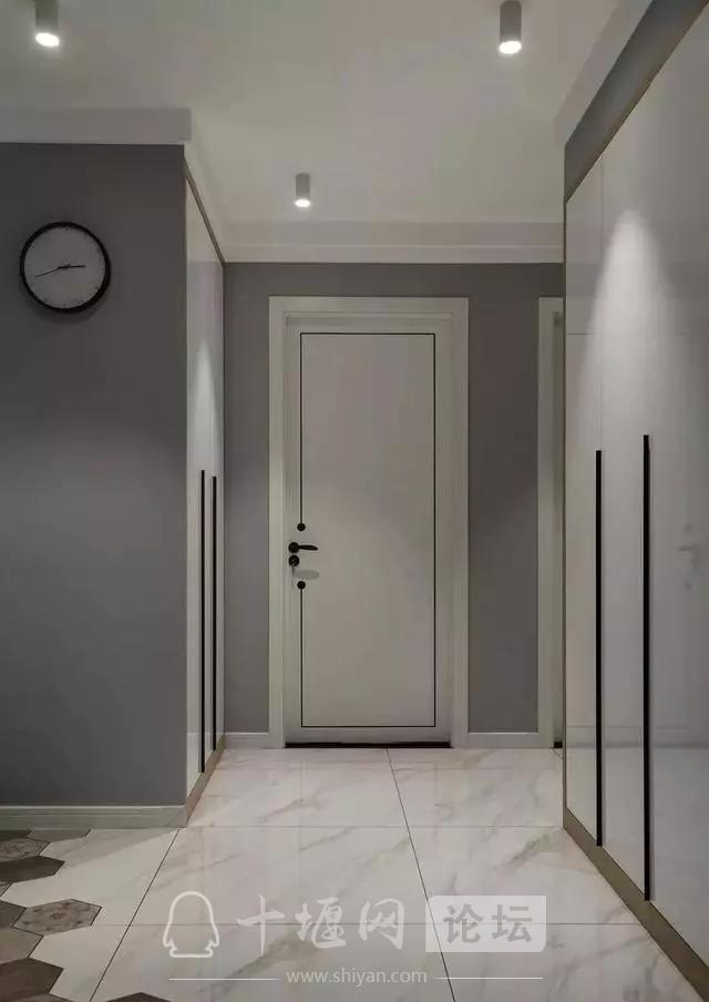 十堰新房装修案例,灰色系北欧三居室-2.jpg