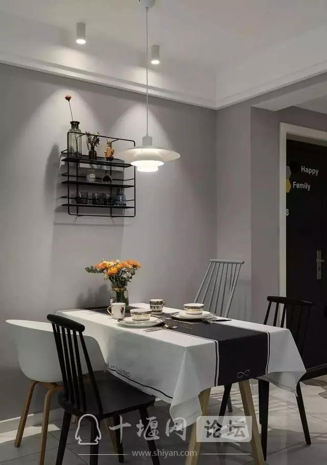 十堰新房装修案例,灰色系北欧三居室-3.jpg