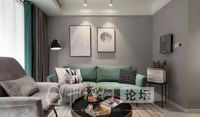 十堰新房装修案例,灰色系北欧三居室-6.jpg