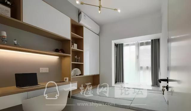 十堰新房装修案例,灰色系北欧三居室-9.jpg