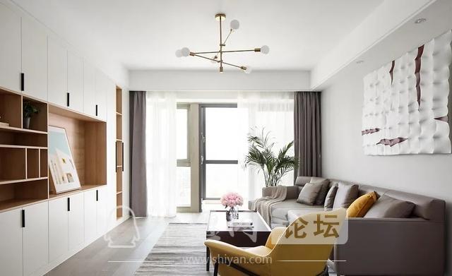 装修案例 140㎡三室两厅,这样的装修风格你爱了吗?-2.jpg