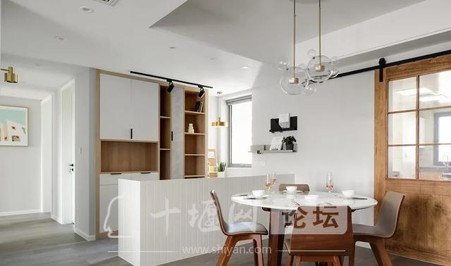 装修案例 140㎡三室两厅,这样的装修风格你爱了吗?-5.jpg