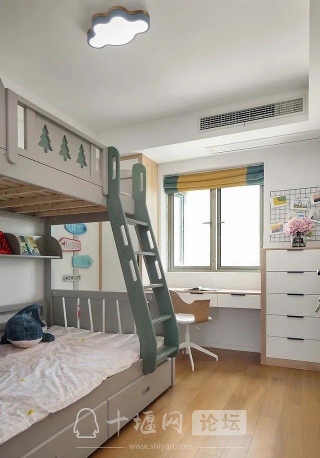 装修案例 140㎡三室两厅,这样的装修风格你爱了吗?-11.jpg