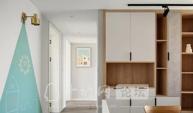 装修案例 140㎡三室两厅,这样的装修风格你爱了吗?-8.jpg