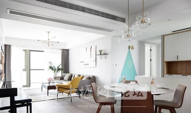 装修案例 140㎡三室两厅,这样的装修风格你爱了吗?-7.jpg