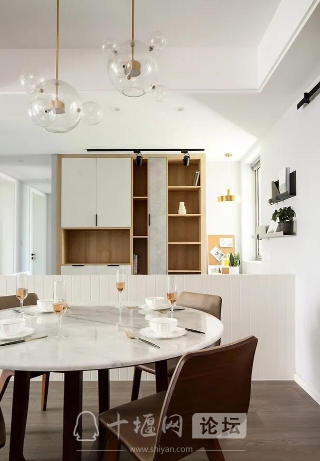 装修案例 140㎡三室两厅,这样的装修风格你爱了吗?-6.jpg