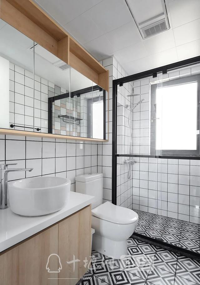 装修案例 140㎡三室两厅,这样的装修风格你爱了吗?-12.jpg