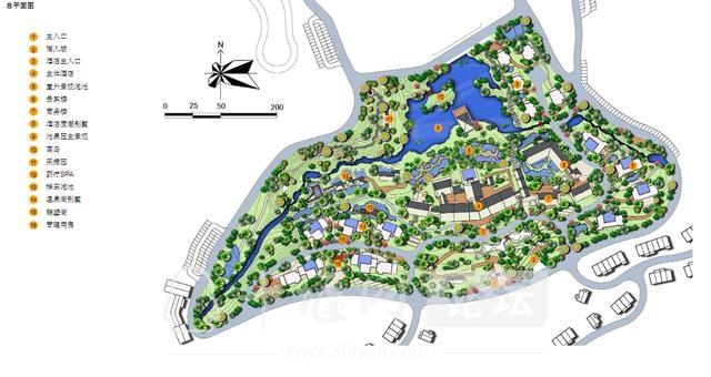 湖北十堰房县樱桃谷温泉度假区规划设计方案-3.jpg