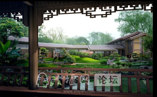 湖北十堰房县樱桃谷温泉度假区规划设计方案-10.jpg