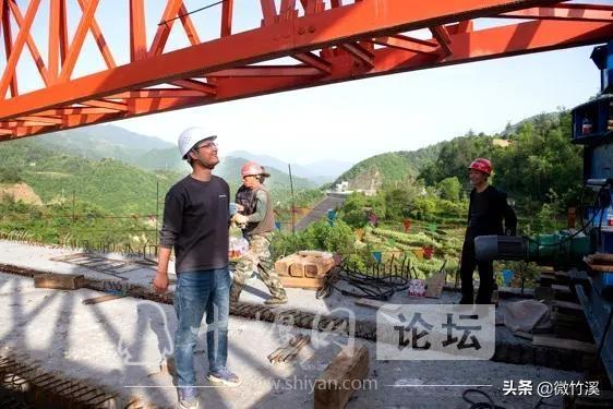 竹溪县:77米!竹溪境内最高桥顺利合拢-3.jpg