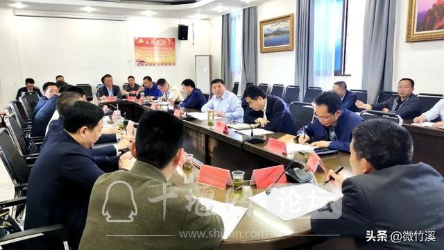 竹溪县:县委书记余世明等督导2021年重点项目推进情况