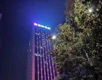 十堰北京南路夜晩繁星美景