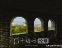 人民公园看十堰,重阳节登高望远,景色宜人美如画